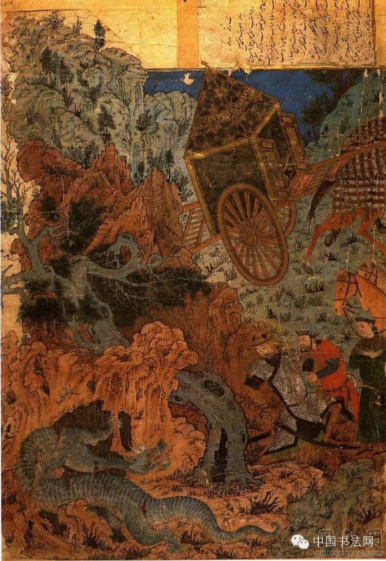 苍狼白鹿——看元代蒙古人的绘画作品 第5张 苍狼白鹿——看元代蒙古人的绘画作品 蒙古画廊