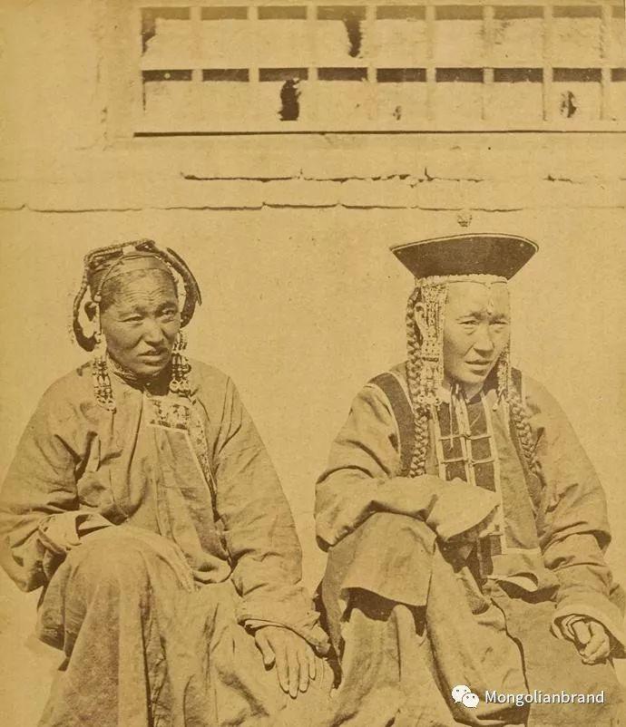 老照片:见证百年前蒙古女性(组图) 第31张