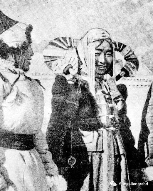 老照片:见证百年前蒙古女性(组图) 第36张