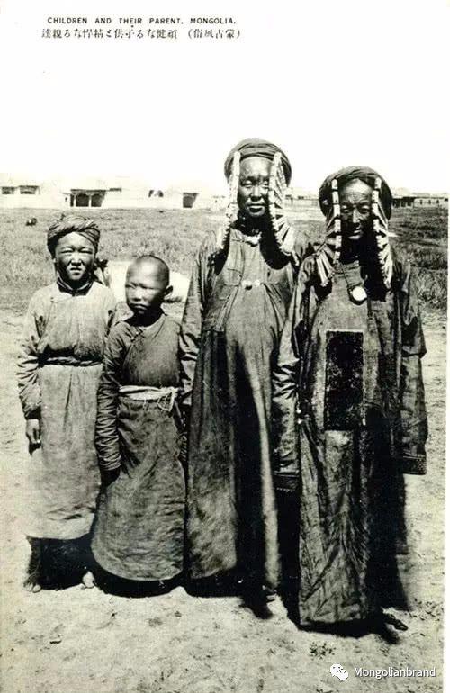 老照片:见证百年前蒙古女性(组图) 第42张
