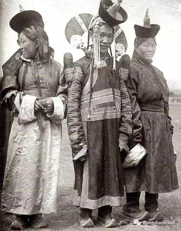 老照片:见证百年前蒙古女性(组图) 第45张
