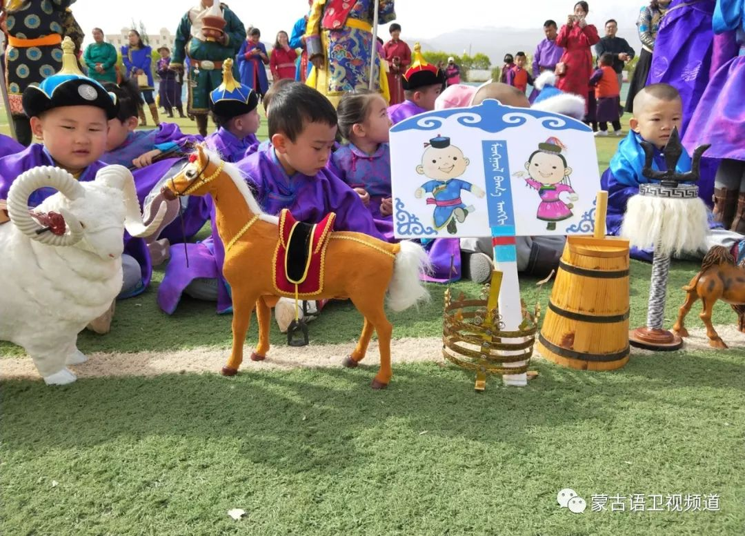 肃北雪山蒙古族孩子们独具特色的六一儿童节 第6张