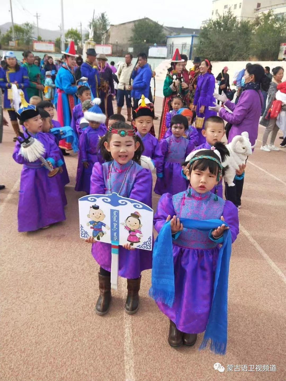肃北雪山蒙古族孩子们独具特色的六一儿童节 第7张