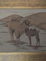 沙画家阿拉塔毕力格:一缕细沙演绎草原游牧生活 第3张