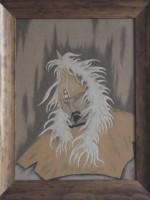 沙画家阿拉塔毕力格:一缕细沙演绎草原游牧生活 第5张