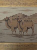 沙画家阿拉塔毕力格:一缕细沙演绎草原游牧生活 第6张