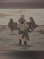 沙画家阿拉塔毕力格:一缕细沙演绎草原游牧生活 第9张