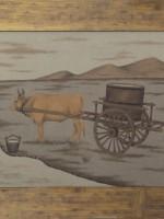 沙画家阿拉塔毕力格:一缕细沙演绎草原游牧生活 第7张