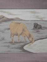 沙画家阿拉塔毕力格:一缕细沙演绎草原游牧生活 第10张