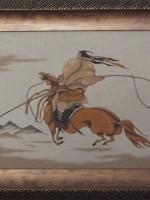 沙画家阿拉塔毕力格:一缕细沙演绎草原游牧生活 第14张
