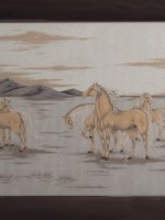沙画家阿拉塔毕力格:一缕细沙演绎草原游牧生活 第12张