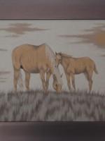 沙画家阿拉塔毕力格:一缕细沙演绎草原游牧生活 第11张