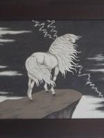 沙画家阿拉塔毕力格:一缕细沙演绎草原游牧生活 第13张