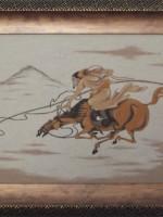 沙画家阿拉塔毕力格:一缕细沙演绎草原游牧生活 第15张
