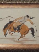 沙画家阿拉塔毕力格:一缕细沙演绎草原游牧生活 第18张