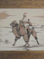 沙画家阿拉塔毕力格:一缕细沙演绎草原游牧生活 第21张