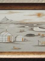 沙画家阿拉塔毕力格:一缕细沙演绎草原游牧生活 第19张