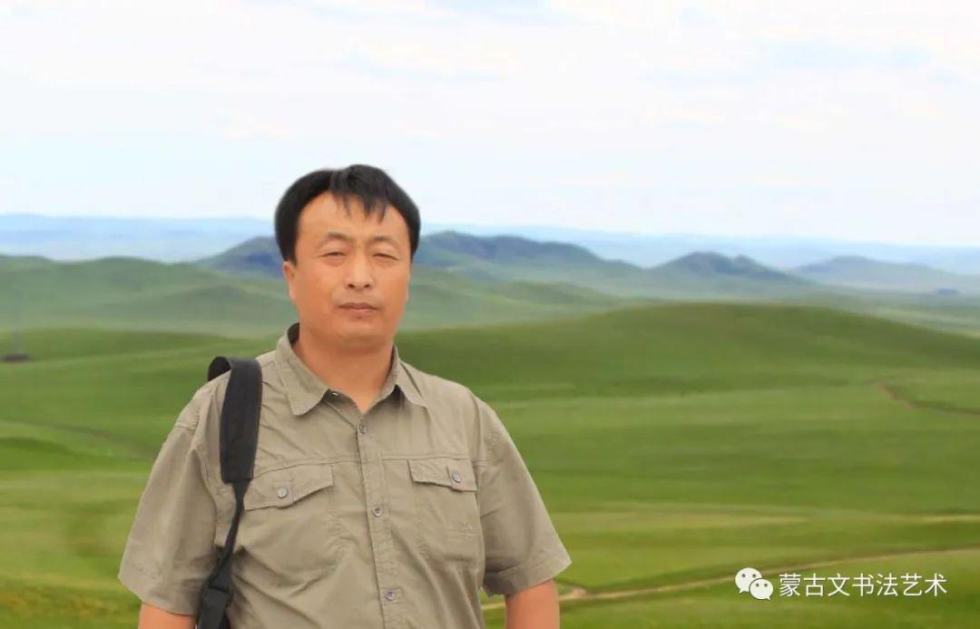 蒙古文书法社会应用展示-宝音套格陶 第1张 蒙古文书法社会应用展示-宝音套格陶 蒙古书法