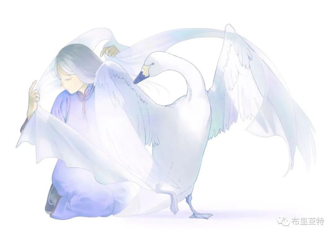 白鳥と狩人―ブリヤートの⺠話 / ᠬᠤᠨ ᠰᠢᠪᠠᠭᠤᠨ ᠤ ᠦᠯᠢᠭᠡᠷ ᠪᠤᠷᠢᠶᠠᠳ ᠤᠨ ᠠᠮᠠᠨ 第27张