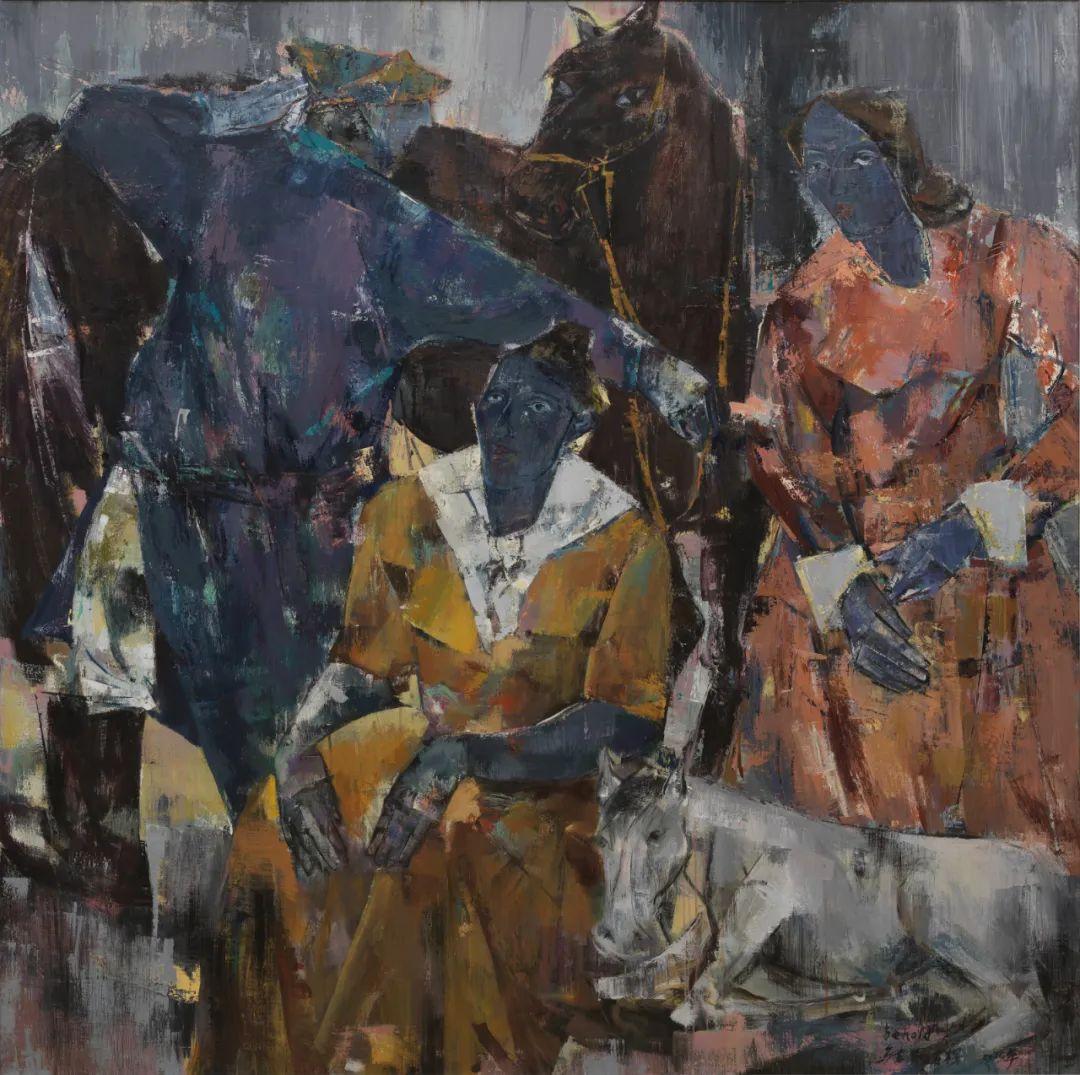 内蒙古当代美术家系列--乌吉斯古楞 第2张 内蒙古当代美术家系列--乌吉斯古楞 蒙古画廊