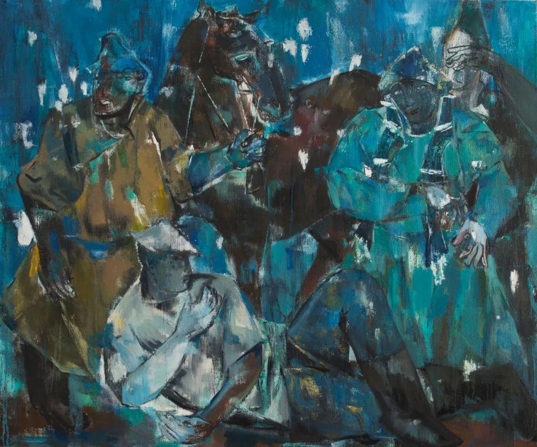 内蒙古当代美术家系列--乌吉斯古楞 第7张 内蒙古当代美术家系列--乌吉斯古楞 蒙古画廊