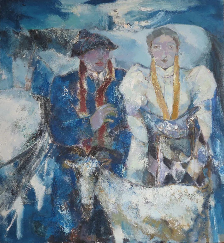 内蒙古当代美术家系列--乌吉斯古楞 第11张 内蒙古当代美术家系列--乌吉斯古楞 蒙古画廊