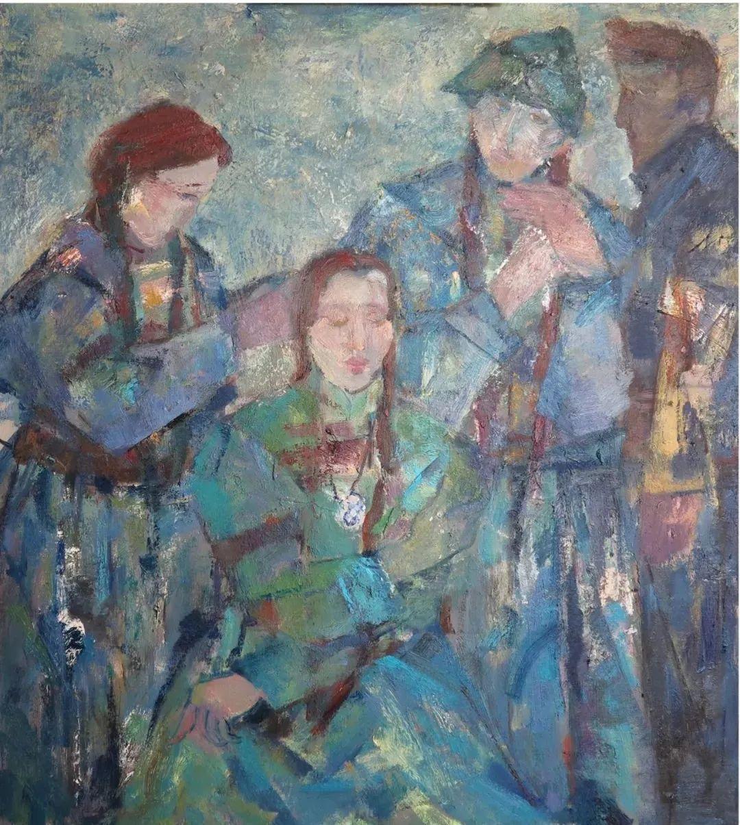 内蒙古当代美术家系列--乌吉斯古楞 第13张 内蒙古当代美术家系列--乌吉斯古楞 蒙古画廊