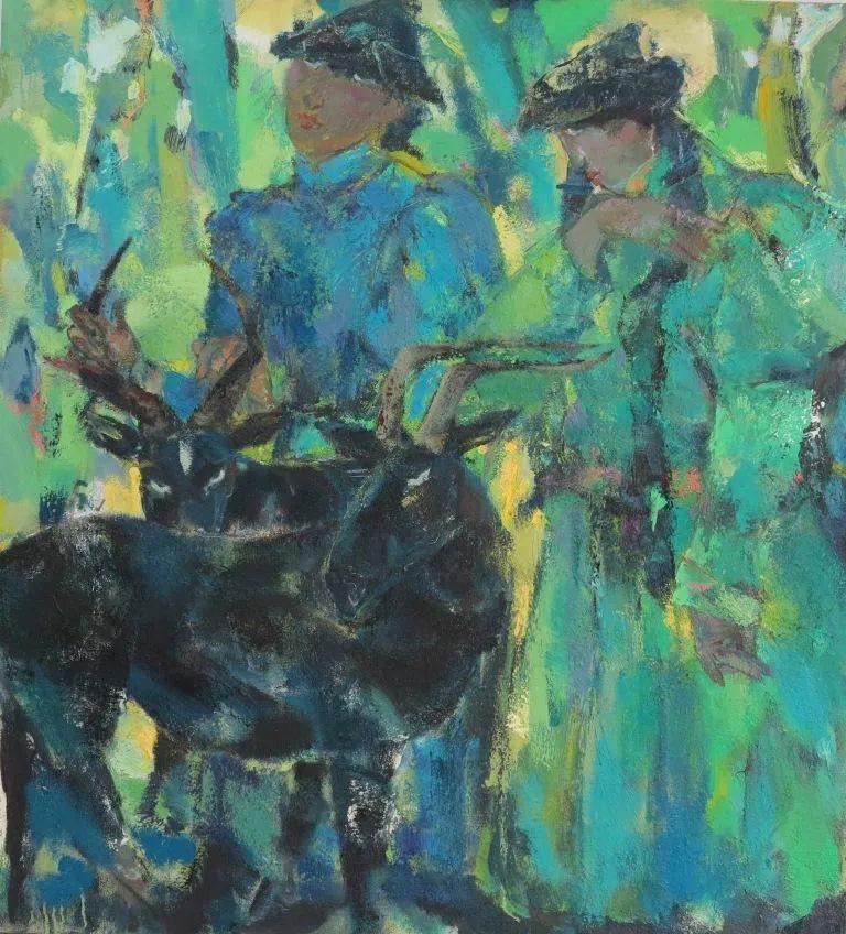 内蒙古当代美术家系列--乌吉斯古楞 第17张 内蒙古当代美术家系列--乌吉斯古楞 蒙古画廊