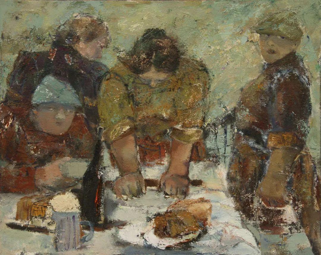 内蒙古当代美术家系列--乌吉斯古楞 第16张 内蒙古当代美术家系列--乌吉斯古楞 蒙古画廊