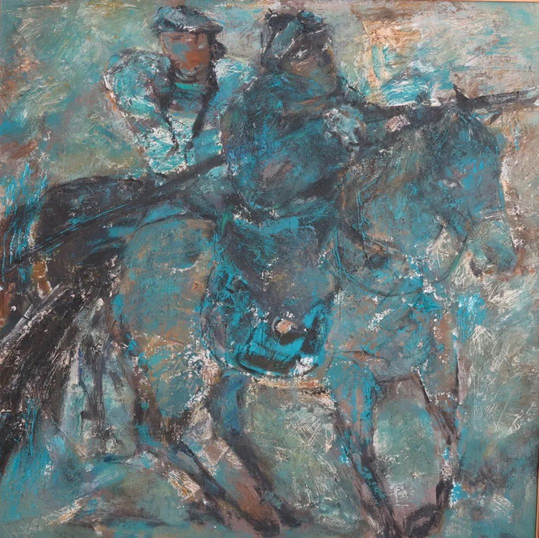 内蒙古当代美术家系列--乌吉斯古楞 第18张 内蒙古当代美术家系列--乌吉斯古楞 蒙古画廊