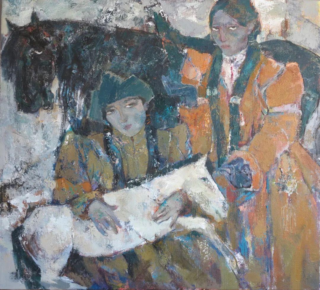 内蒙古当代美术家系列--乌吉斯古楞 第21张 内蒙古当代美术家系列--乌吉斯古楞 蒙古画廊