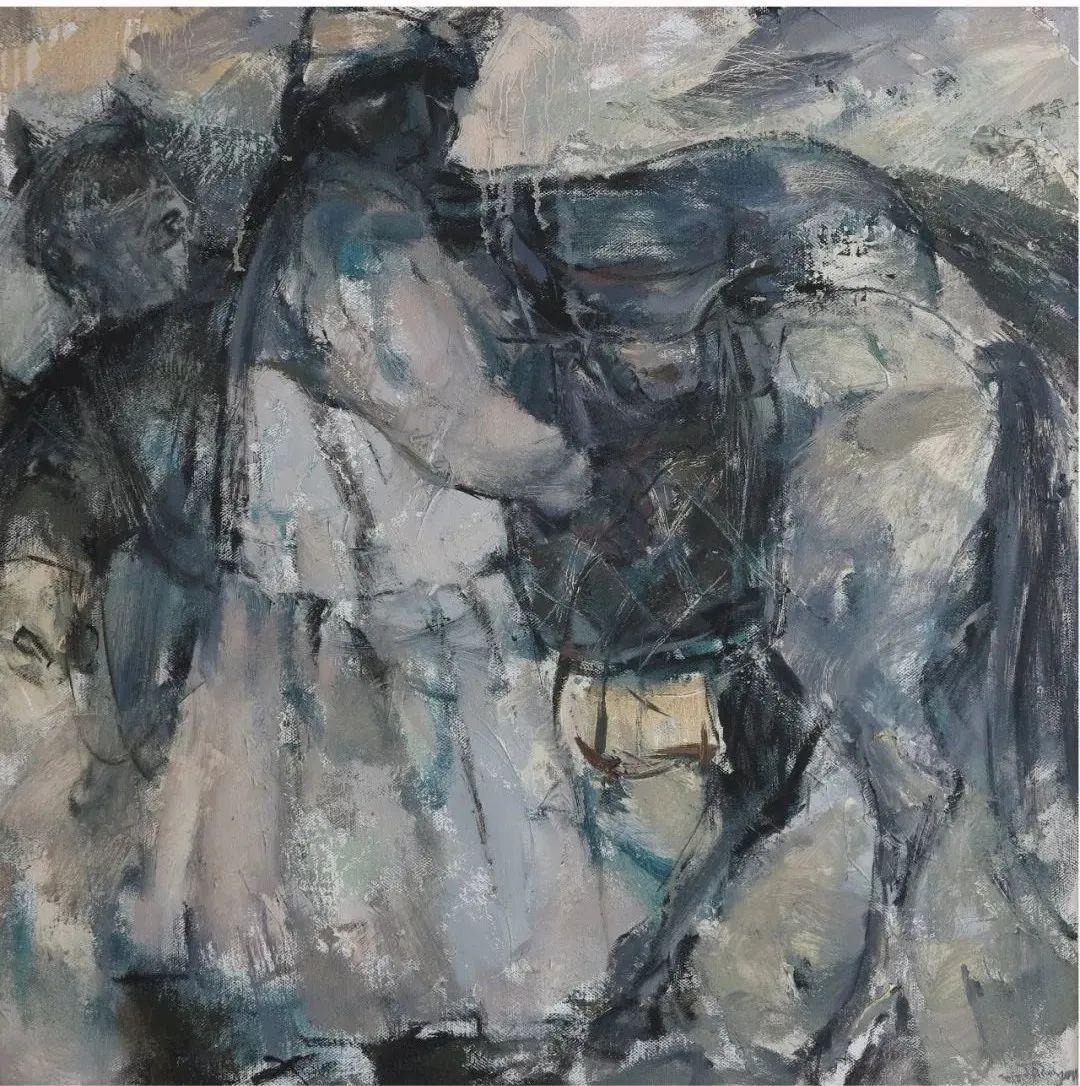 内蒙古当代美术家系列--乌吉斯古楞 第20张 内蒙古当代美术家系列--乌吉斯古楞 蒙古画廊