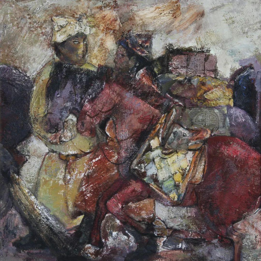 内蒙古当代美术家系列--乌吉斯古楞 第24张 内蒙古当代美术家系列--乌吉斯古楞 蒙古画廊