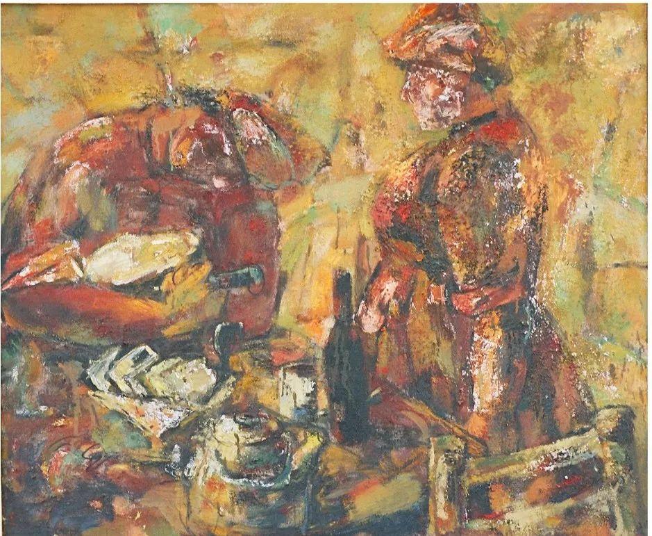 内蒙古当代美术家系列--乌吉斯古楞 第28张 内蒙古当代美术家系列--乌吉斯古楞 蒙古画廊
