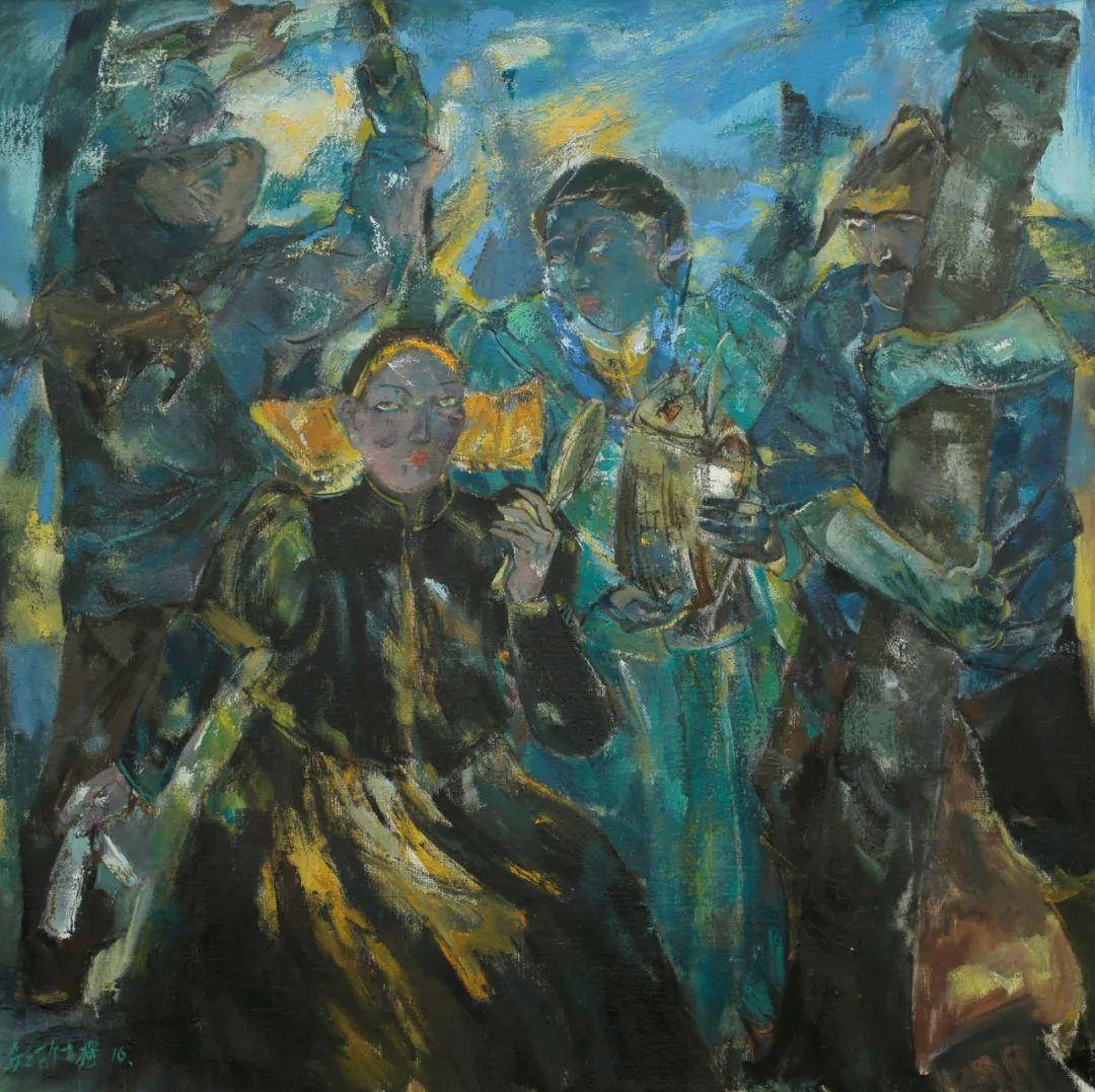内蒙古当代美术家系列--乌吉斯古楞 第26张 内蒙古当代美术家系列--乌吉斯古楞 蒙古画廊