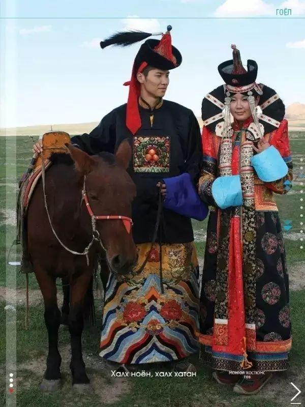 穿蒙古袍要注意17个事项 第1张