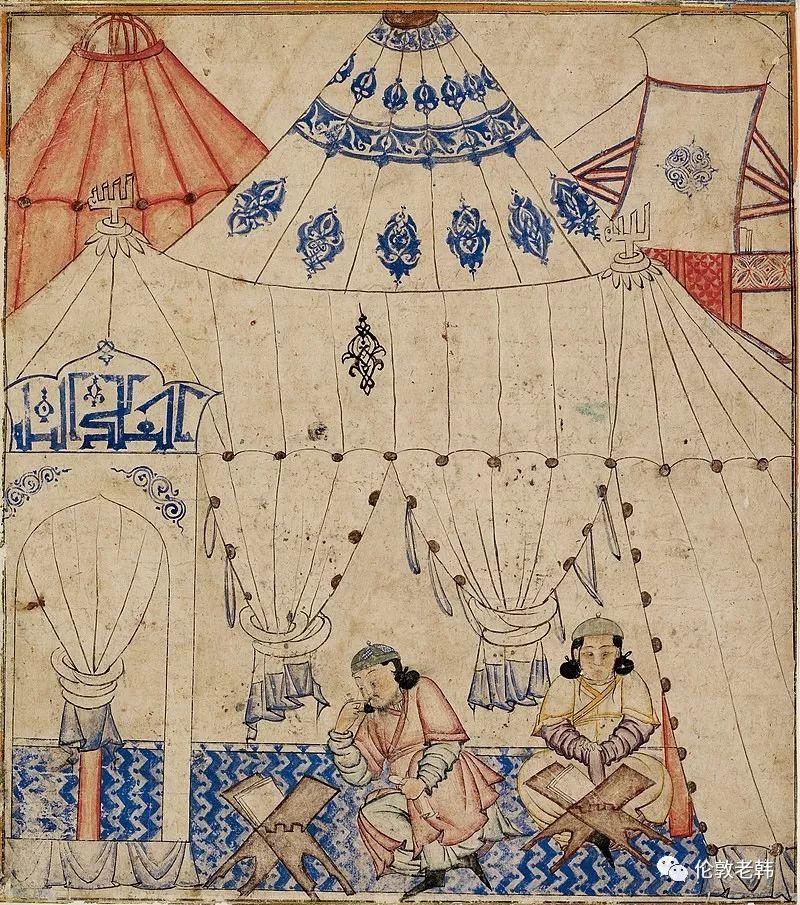 蒙古往事:伊尔汗国的蒙古袍 第4张