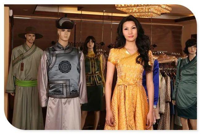 美丽的蒙古袍 第6张