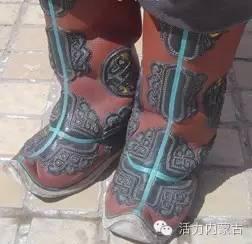 我和我的蒙古袍 | 靴行草原——蒙古族靴子(一) 第4张