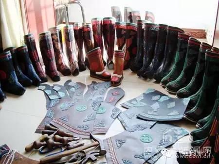 我和我的蒙古袍 | 靴行草原——蒙古族靴子(一) 第6张