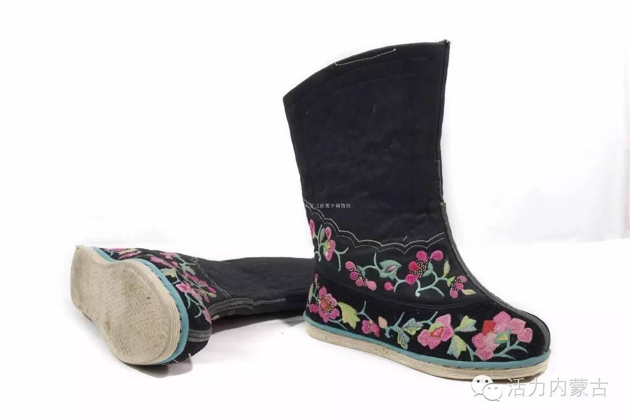 我和我的蒙古袍 | 靴行草原——蒙古族靴子(一) 第8张