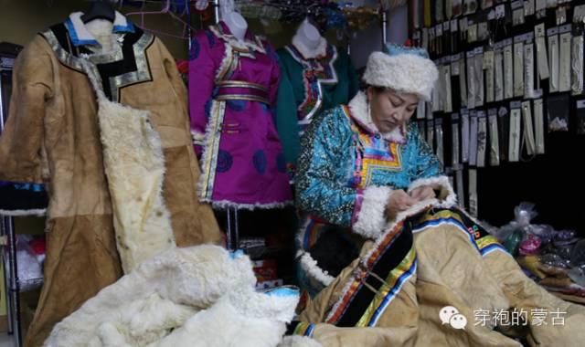乌珠穆沁旗羊皮蒙古袍的来历! 第5张