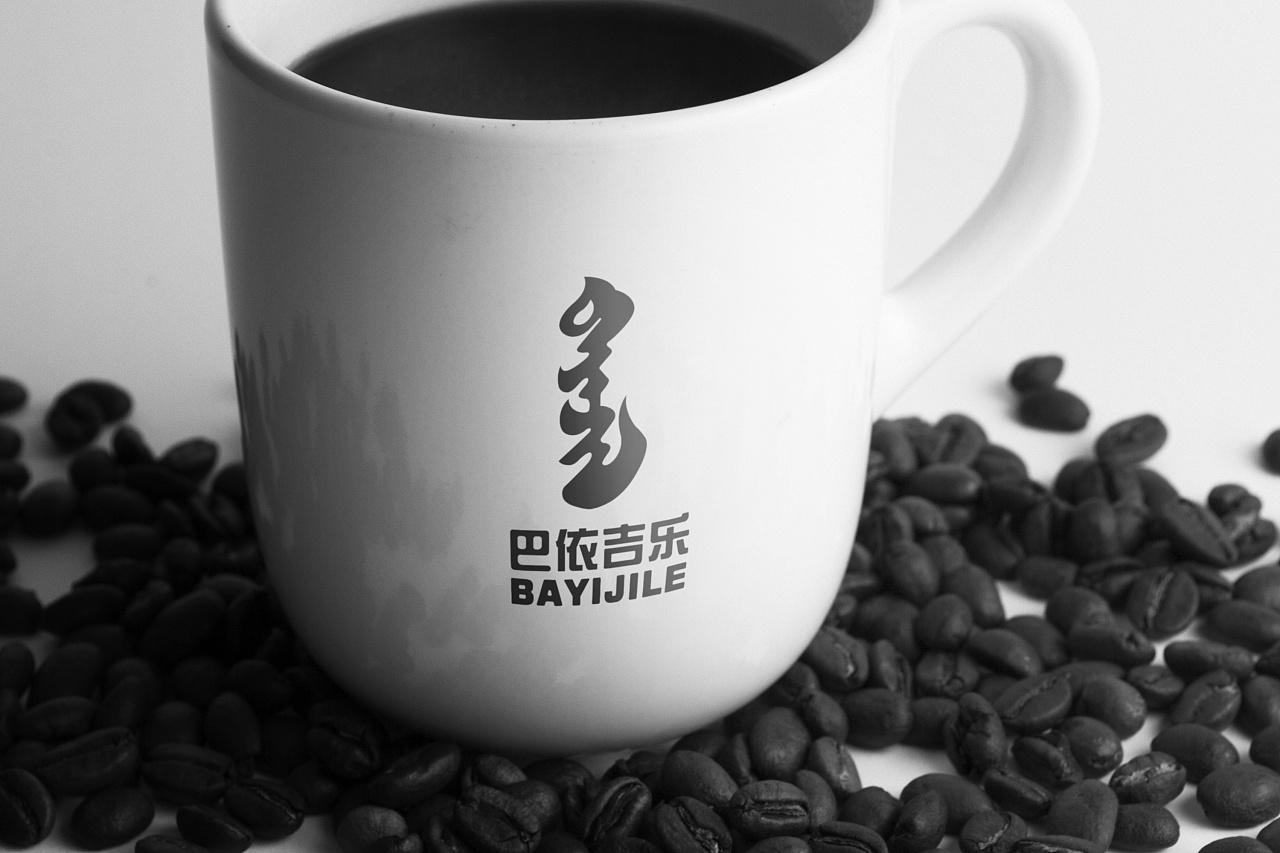 巴依吉乐,蒙古文字logo(阿斯玛设计) 第1张