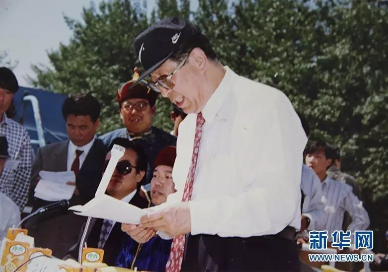 """王满特嘎:我与北京那达慕""""相知相爱""""(蒙古文·图片) 第17张"""