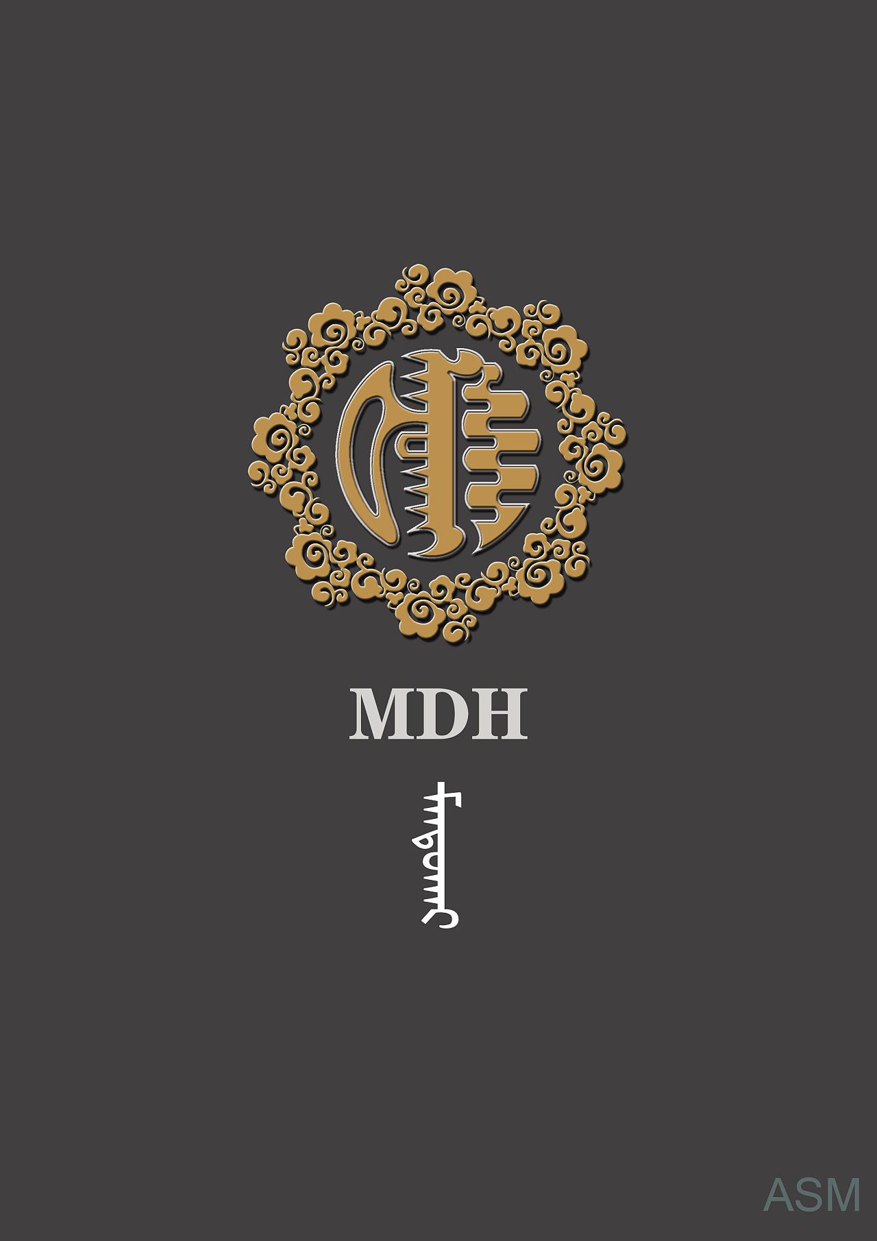 蒙古艺术文字3 -阿斯玛设计 第4张