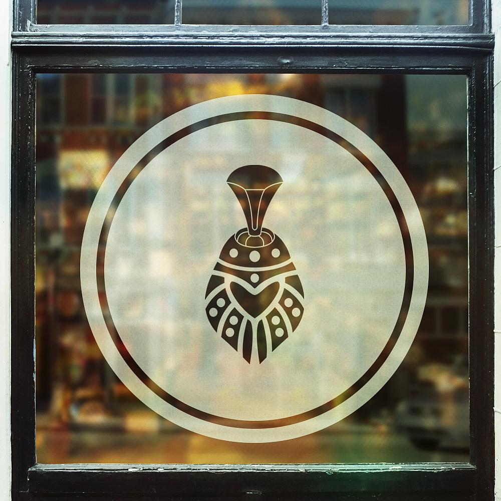 阿盖咖餐-蒙古特色logo设计 第1张
