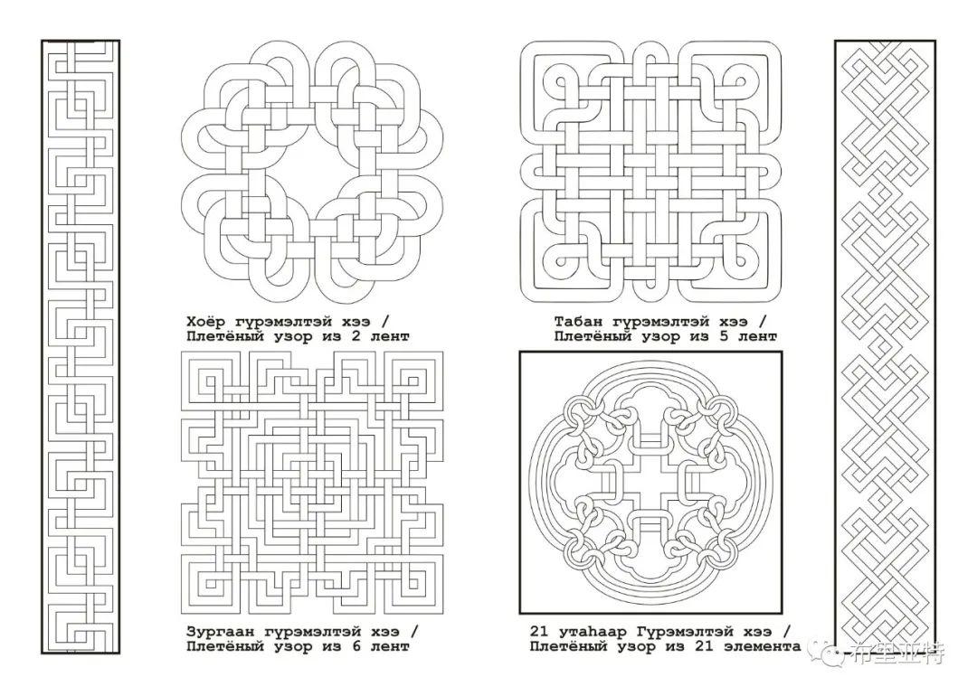 布里亚特蒙古族图案的演变与应用(马奕兰) 第3张