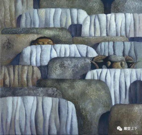 充满童年回忆的俄罗斯布里亚特艺术家佐里克托·多尔吉耶夫 第4张