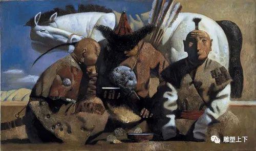 充满童年回忆的俄罗斯布里亚特艺术家佐里克托·多尔吉耶夫 第7张