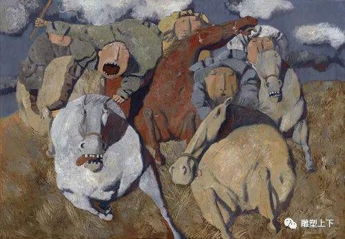充满童年回忆的俄罗斯布里亚特艺术家佐里克托·多尔吉耶夫 第5张